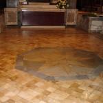 Basilica di S. Pancrazio in Roma dopo il trattamento